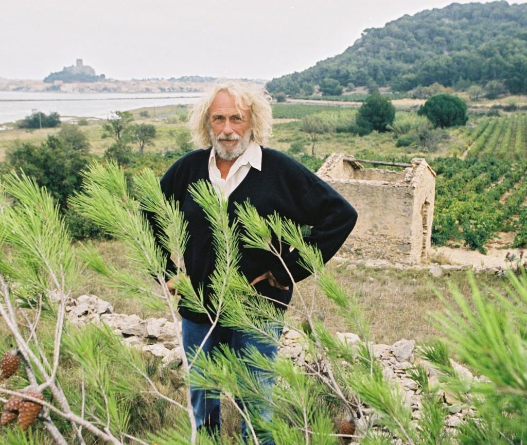 Pierre R., vinice, Gruissan