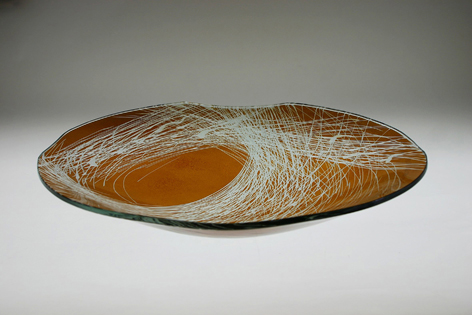 engraved bowl 490×80 mm