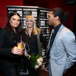 Mahulena Bočanová a Jones Santana, uprostřed Chantal Poullain