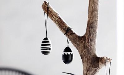 Dekorativní dřevěná vajíčka 12 ks (1)2