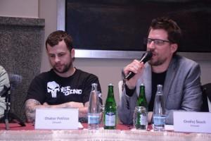 Otakar Petrina a Ondrej Skoch z kapely Chinaski