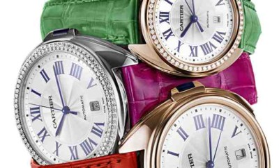Cle¦ü de Cartier coloured straps