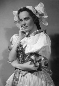 Novotna, Jarmila Marenka Bartered Bride Josef Heinrich (Prag