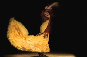 Cuadro Flamenco de Roc'o V‡zquez. [Noches de Ronda]. Patio Convento Sto. Domingo. Ronda. Comarca Serran'a de Ronda. Provincia de M‡laga.