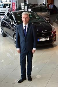 Jaroslav Sveceny s vozem DS 5 077