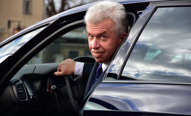 Jaroslav Sveceny s vozem DS 5 222