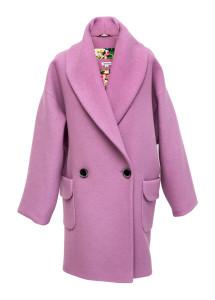 Elisha - Lila maxi kabát s krajkovou podšívkou, cena 7970