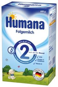 Pokracovaci mleko Humana 2_