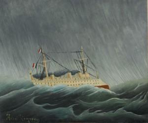 06. Henri Rousseau, Bouře na moři