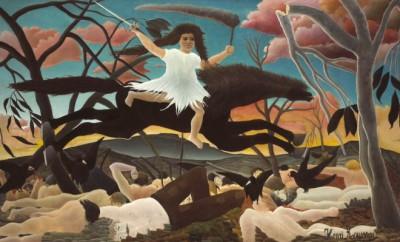 08. Henri Rousseau, Válka