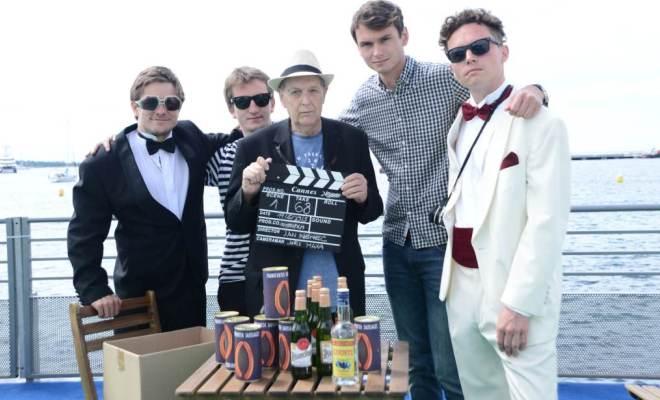 1.klapka, Jiří Mádl, produkční Jakub Pinkava, Jan Němec, Tomáš Michálek (producent) a Tomáš Klein (herec, pomocný režisér)
