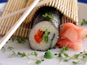 vegefest sushi