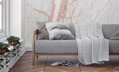 Bronze Textured Marble Wallpaper-Murals_Wallpaper_25GBP