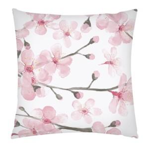 Polštářek s kvetoucími třešňěmi, artrookie.co.uk, 25GBP