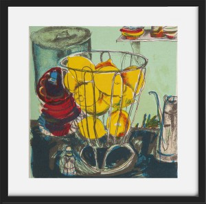 Chloe Cheese Lemons Framed Print