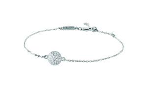 Stříbrný náramek s krystaly, Dyrberg Kern, 3099 Kč.