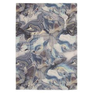 Mramorový koberec Teda Bakera, RheRugSeller.co,uk, 1119 GBP.