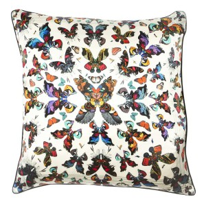 kaleidoscope Butterfly Cushion by Kristjana S Williams, rume.co.uk, 146 Euro