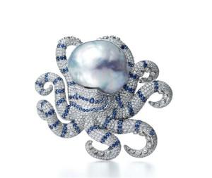 Diamantová chobotnice, Tiffany