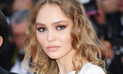 "CANNES, FRANCE - MAY 17:  Lily-Rose Depp attends the ""Ismael's Ghosts (Les Fantomes d'Ismael)"" screening and Opening Gala during the 70th annual Cannes Film Festival at Palais des Festivals on May 17, 2017 in Cannes, France.  (Photo by Venturelli/WireImage)"