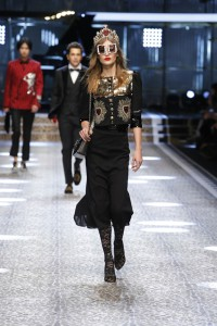 Dolce&Gabbana_women's fashion show FW17-18_Runway images (9)