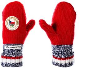Pletené rukavice, 399 Kč.