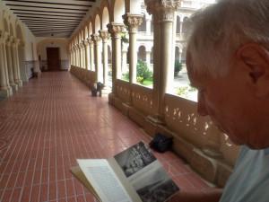 Klášter Guadalajara, zde působil československý polní lazaret J. A. Komenského. V roce 1937 tu všude byla lůžka s pacienty, zraněnými v bojích s fašisty