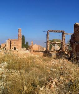 Trosky města Belchite tu zůstaly až do dnešních dnů, jako pomník krutých bojů, které se zde odehrávaly na podzim 1937. O město tehdy bojovaly také desítky Čechoslováků