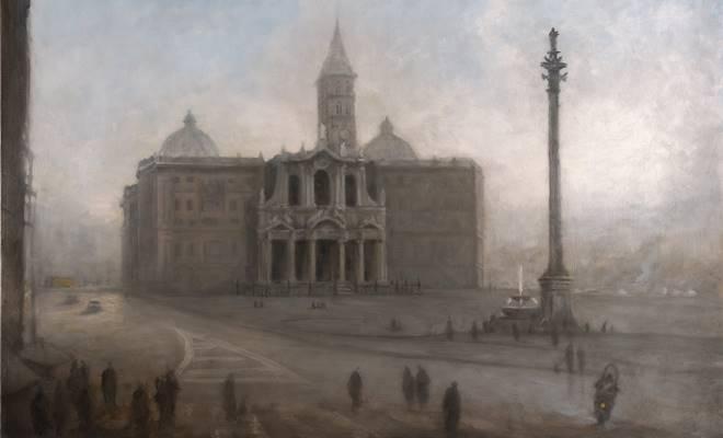 Anna Keen_Santa Maria Maggiore, Rome_oil on cavas, 89 x 116, 2013_small