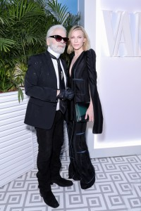 Karl Lagerfeld a Cate Blanchet