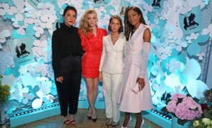 LONDON, ENGLAND - JUNE 21:  (L to R) Jessie Ware, Natalie Dormer, Iris Law and Naomie Harris attend as Tiffany & Co. celebrates the launch of the Tiffany Paper Flower collection at The Lindley Hall on June 21, 2018 in London, England.   Pic Credit: Dave Benett