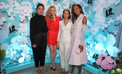 Tiffany & Co. Celebrates The Launch Of Tiffany Paper Flower Collection With A Party