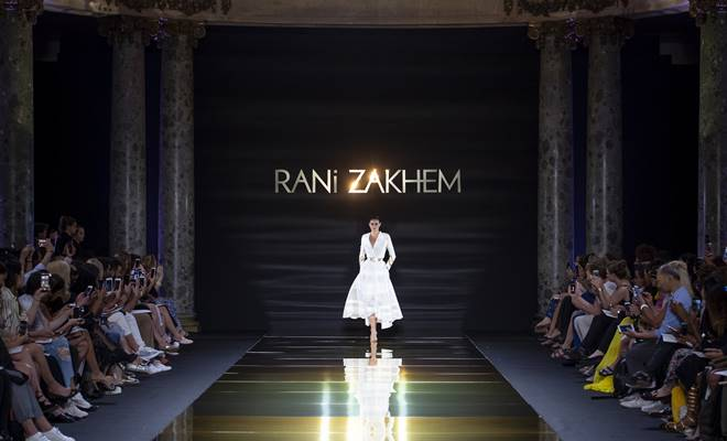 RANI ZAKHEM couture collection automne hiver _ fall winter 2018-2019 PFW - © Imaxtree 1