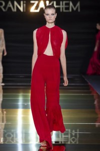 RANI ZAKHEM couture collection automne hiver _ fall winter 2018-2019 PFW - © Imaxtree 15