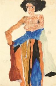 Egon_Schiele_Moa_1911_Gouache_aquarelle_et_crayon__14527