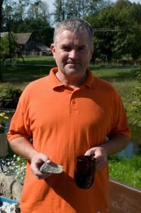 Sklářský technolog Vladimír Kvasnička, otec popisovaného nápadu