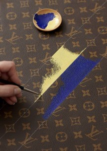 Louis Vuitton Milkmaid Hand Painting