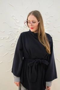 Designerka Blanka Rozova s brylemi z kolekce ONX PURE