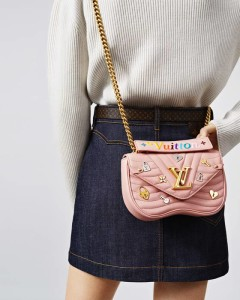 LV NEW WAVE LOVE LOCK PINK