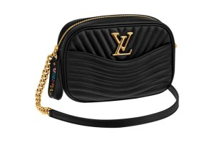 01-Black Camera Bag Louis Vuitton New Wave
