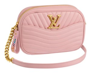 02-Pink Camera Bag Louis Vuitton New Wave