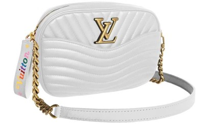 03-White Camera Bag Louis Vuitton New Wave
