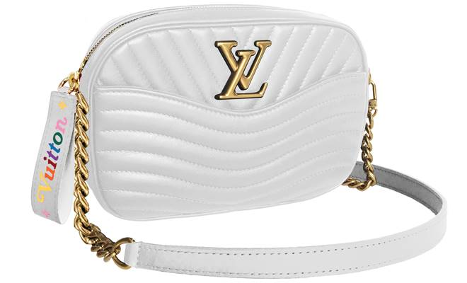 03-White Camera Bag Louis Vuitton New Wave