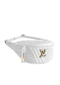 05-White Bumbag Louis Vuitton New Wave