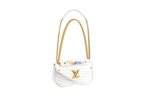 06-White Chain Bag Louis Vuitton New Wave