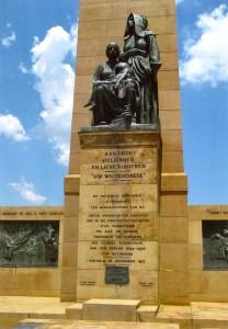 Ženám, které s dětmi a starými lidmi tvořily většinu uvězněných v britských táborech je věnován pomník obětem v Bloemfonteinu. Po její smrti zde byl uložen popel Emily Hobhousové.