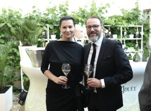 Tatana Kovarikova s partnerem_Augustine_Perrier Jouet