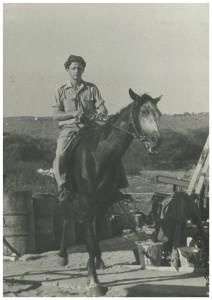Momentka z Izraele z roku 1948