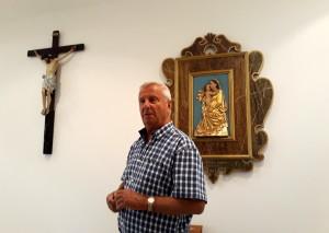 Naše kaple je otevřena každému…říká ředitel Domova Josef Kuběnka