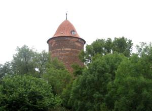 Dannenberg, Waldemarova věž, 800 let stará a 33 m vysoká